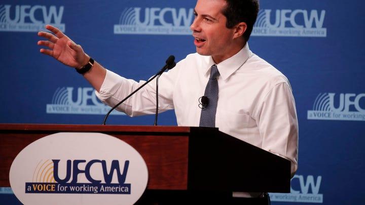 Presidential hopefuls preach power of unions at Iowa labor forum