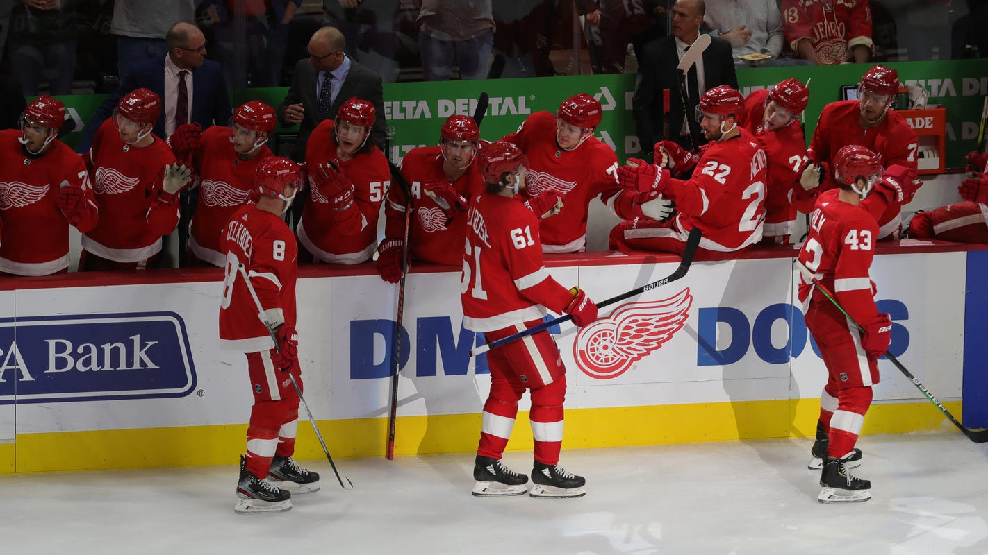 Magnificent Detroit Red Wings Have 2 Lines Clicking Need Far More From Pdpeps Interior Chair Design Pdpepsorg