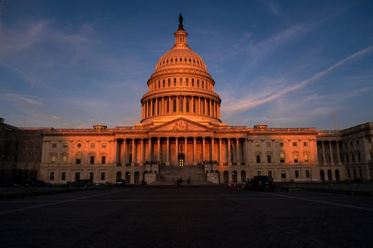 In this Sept. 25, 2019, file photo, the West Front of the U.S. Capitol in Washington.