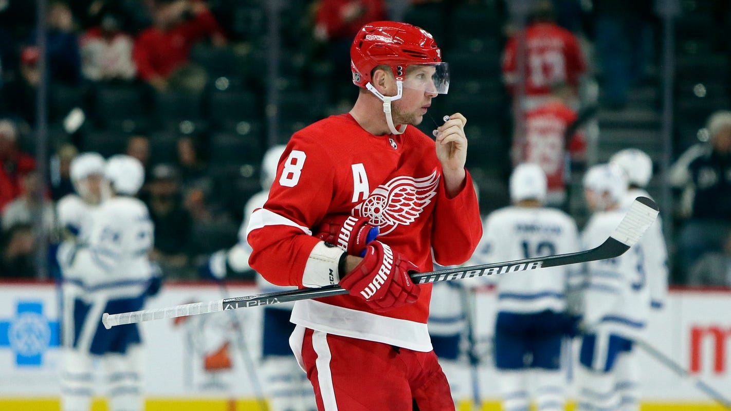 Red Wings get a boost from 'big, strong, heavy' fourth line