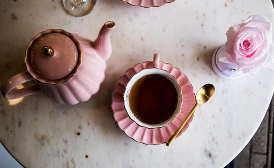 Forever Fiore offers a range of herbal, white, black and green teas, all served loose-leaf.