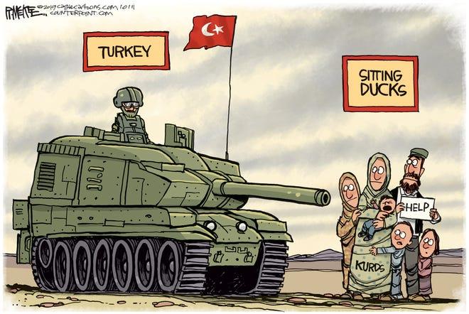 Kurds as sitting ducks.