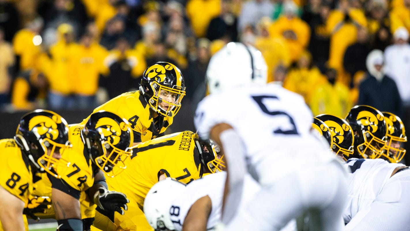 Depth charts: Projected starters for No. 22 Iowa vs. Purdue