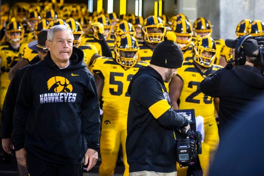 Kirk Ferentz's Hawkeyes have scored just 15 points in the past two weeks, in large part because of a deficient offensive line.