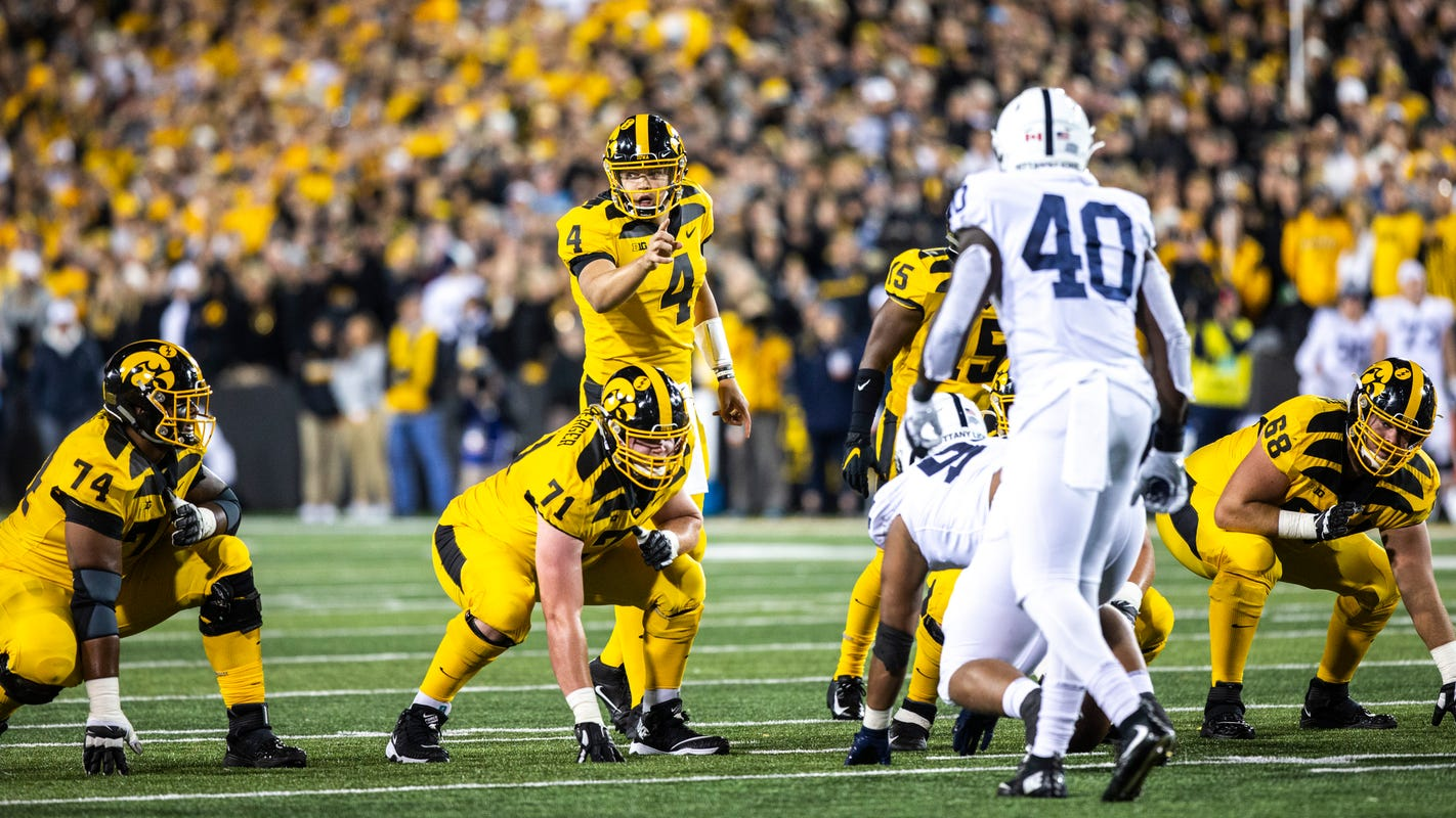 Leistikow's DVR Monday: Interior line play, not Brian Ferentz, largely at fault in Penn State loss