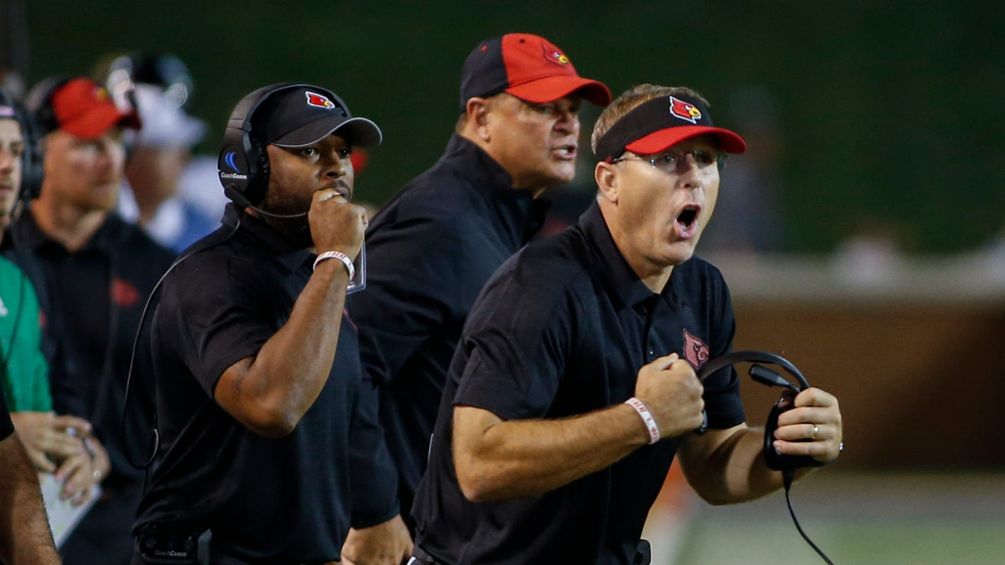 Scott Satterfield named ACC Coach of the Year in his first season at Louisville