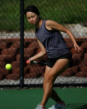Lexington sophomore is headed to the state tennis tournament as a district champion