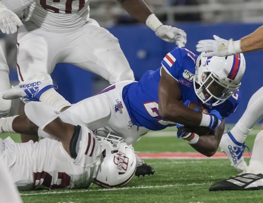Louisiana Tech dominated UMass 69-21 on Oct. 12.