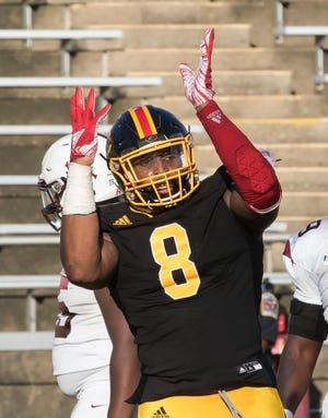 Grambling won over Alabama A&M 23-10 with 2 late game touchdowns at Eddie G. Robinson Memorial Stadium in Grambling, La. on Oct. 12.