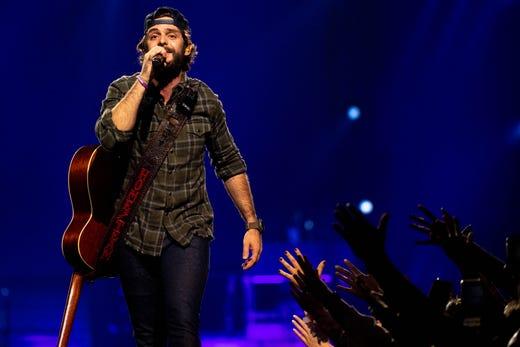 Thomas Rhett's Nashville concert was a surprise-filled anniversary party