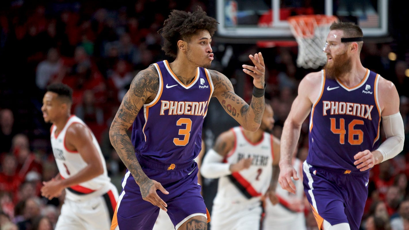 Suns backups, rookies have 3-point party, beat Blazers in preseason game