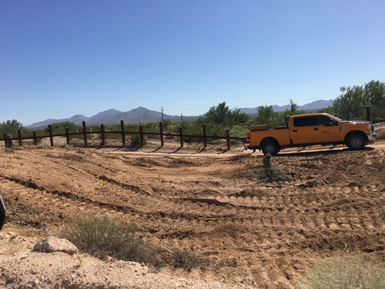 Saguaro cactuses are being removed and replanted away from the Arizona border with Mexico in Organ Pipe Cactus National Monument.
