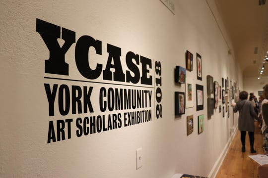 York College of Pennsylvania's annual York Community Art Scholars Exhibition (YCASE) celebrates the art produced by area high school students.