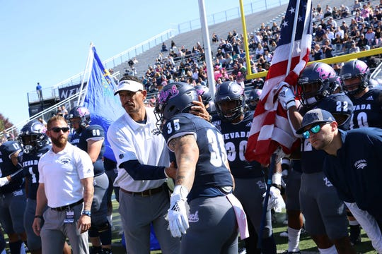 Nevada improved to 4-2 and got its first Mountain West win by beating San Jose State on Saturday.