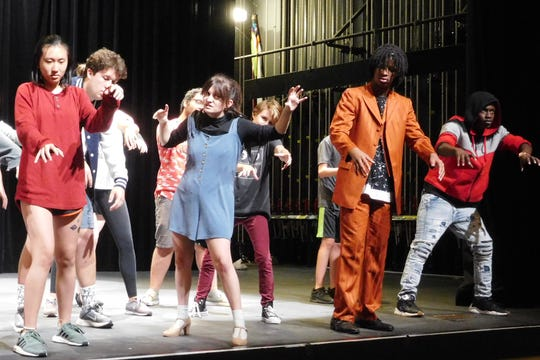 "A Michael Jackson inspired ""Thriller"" number is a blast from the past."