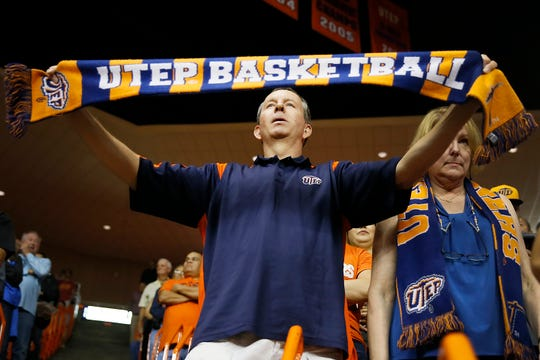 UTEP fans during the game against Texas Tech Saturday, Oct. 12, at the Don Haskins center in El Paso.