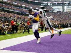 Eagles return to Minnesota, get burned by Vikings' passing game led by Stefon Diggs, Kirk Cousins