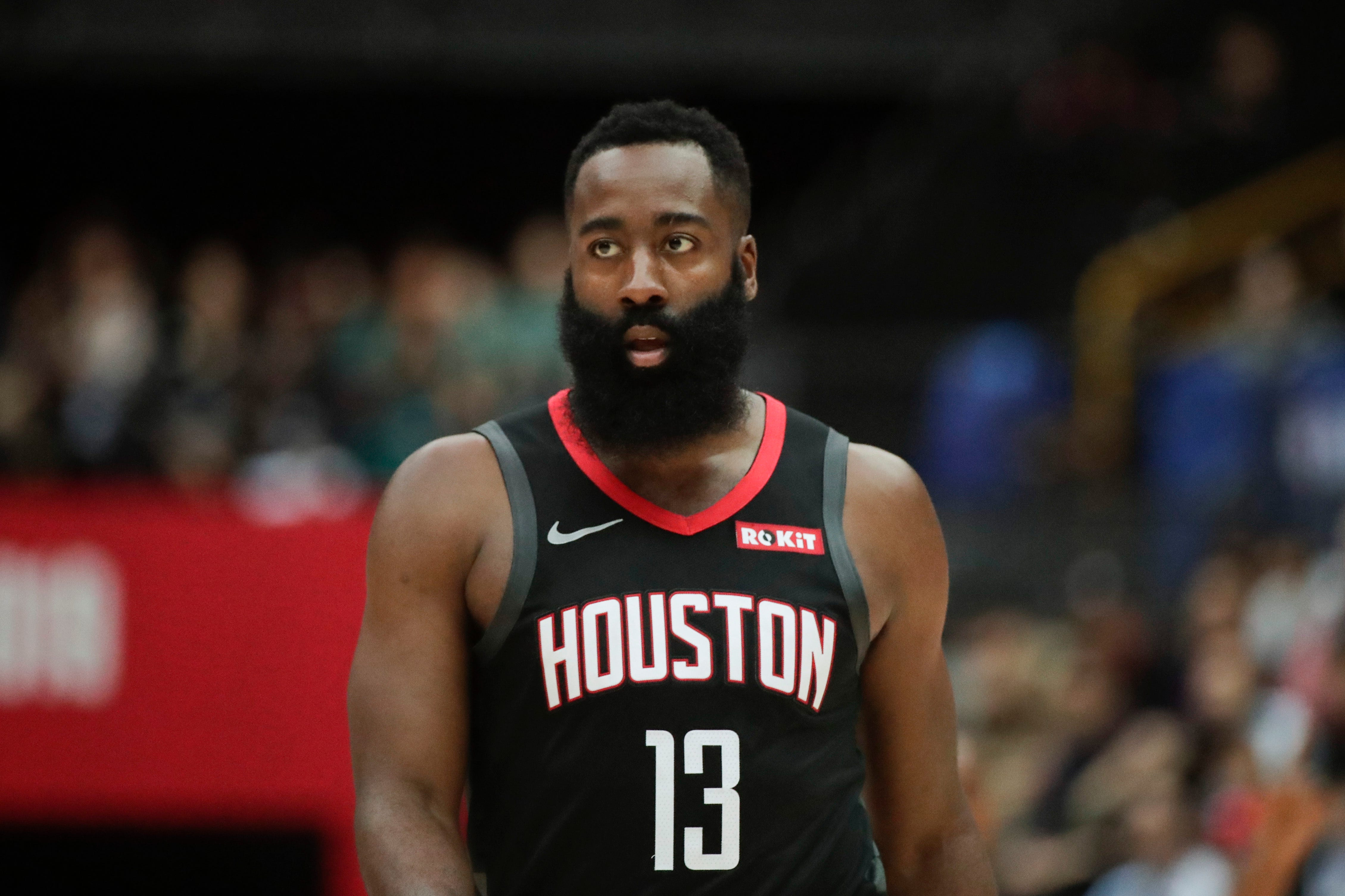 Rockets' James Harden on NBA-China dispute: 'I'm staying out of it'