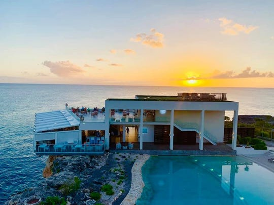 Magical sunsets at the Sonesta Ocean Point Resort in St. Maarten.