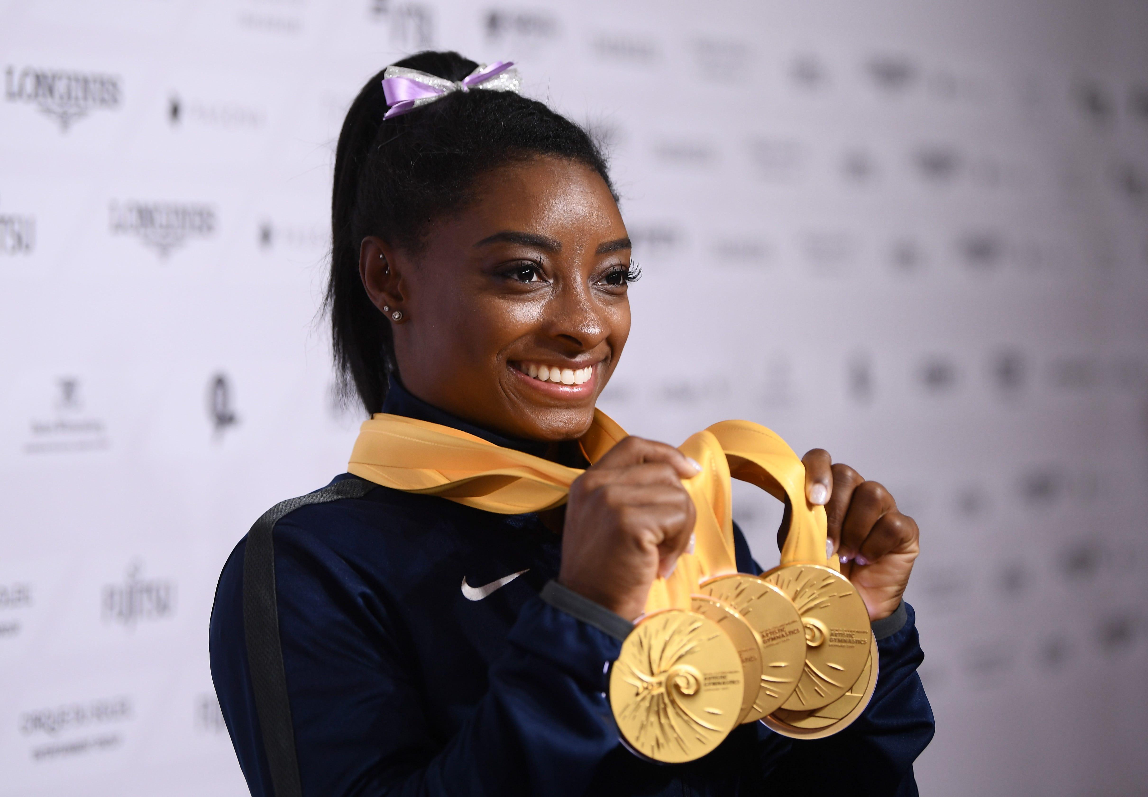 Opinion: Simone Biles follows Michael Phelps, Usain Bolt as Olympic icons
