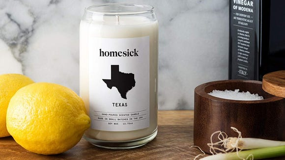 Best personalized gifts 2019: Homesick Candle