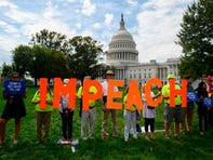 In front of the U.S. Capitol on Sept. 26, 2019.