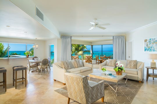 In Turks & Caicos Islands, The Sands at Grace Bay invites with spacious sea view suites.