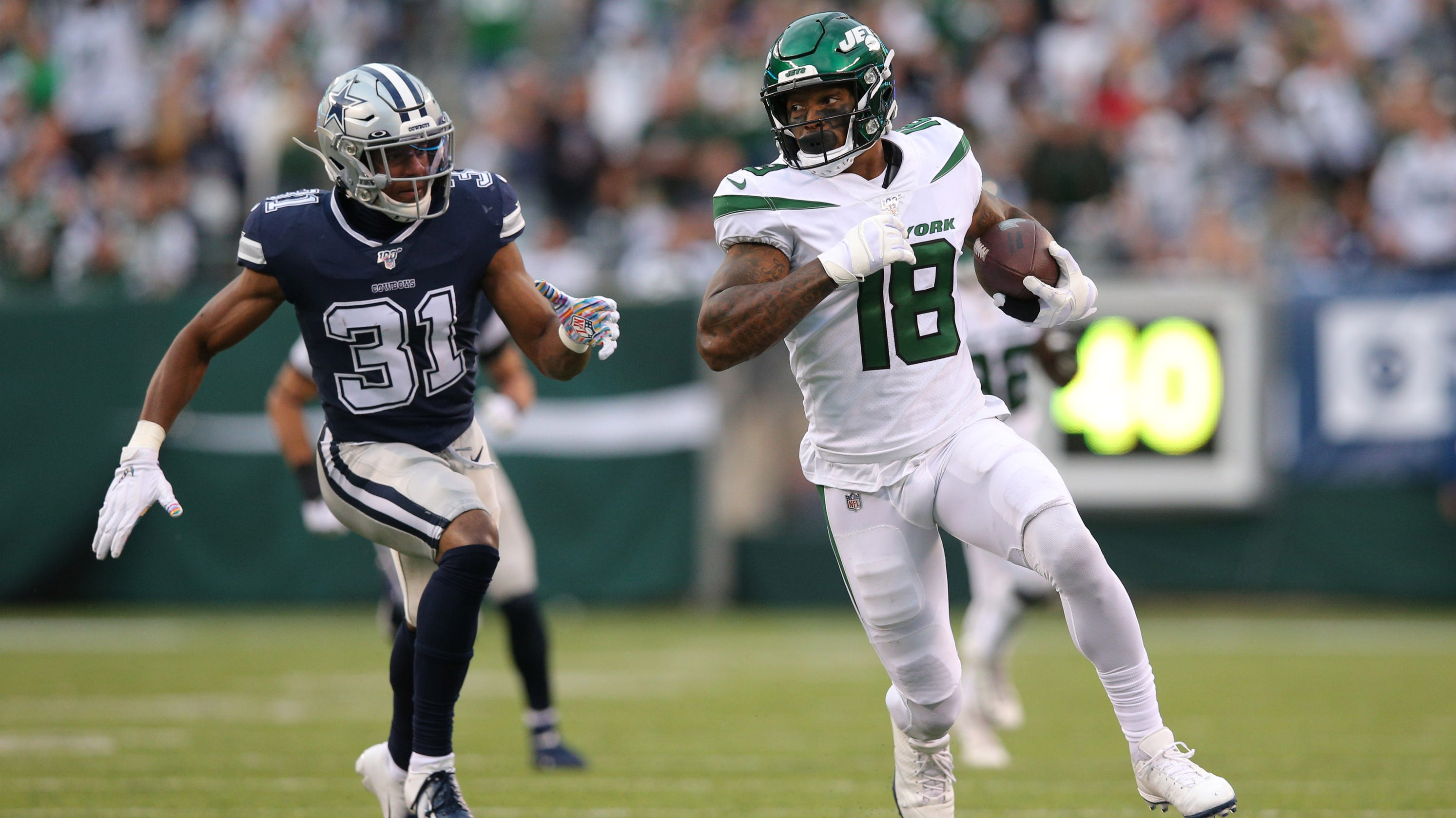 Jets stun Cowboys, secure first win of season in Sam Darnold's return