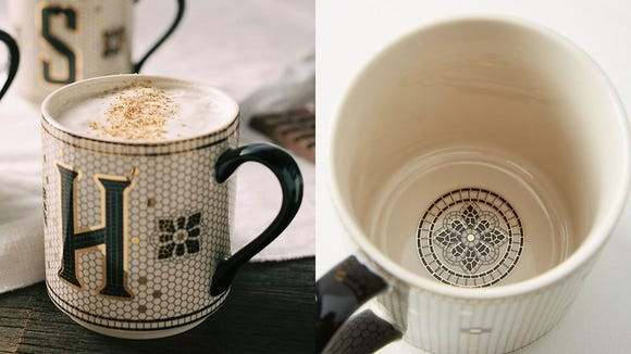 Best personalized gifts 2019: Tiled Margot Monogrammed Mug