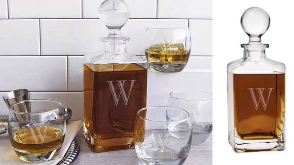 Best personalized gifts 2019: Whiskey decanter set