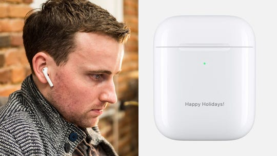 Best personalized gifts 2019: Apple AirPods