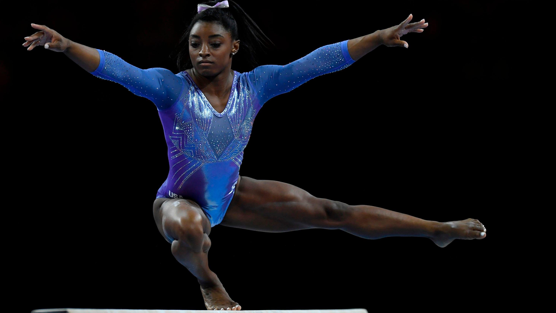 Simone Biles wins record 24th medal at gymnastics world championships