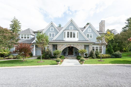 Rumson five-bedroom home at 41 Bellevue Ave beams charming curb appeal