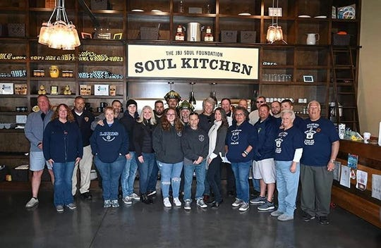 Jon Bon Jovi at the 5th annual JBJ Soul Kitchen Chili Cook-Off on Oct. 5 in Toms River.