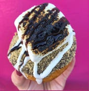 The Toasted Campfire doughnut at The O.G. Creamery in Ocean Gate.