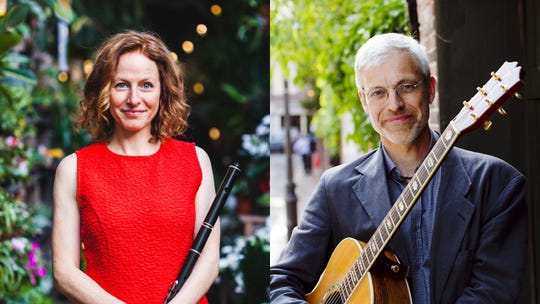 """The Cranberry Coffeehousewill present traditional Irish fluteand whistle player Shannon Heaton, in concert with Keith Murphy, a Newfoundland-native guitarist and songwriter from the dance band""""Nightingale,"""" Saturday evening at the Unitarian Universalist Congregation of Binghamton."""