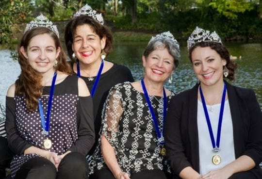 Aged to Perfection is compised of two moms, Kathy Pomer and Gaye LaCasce,and theirdaughters Ellie Pomer and Alexa Beal.