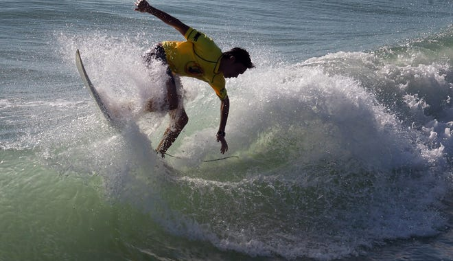 Monday was the final day at the 34th Annual 2019 National Kidney Foundation Rich Salick Pro-Am Surf Festival at  the Westgate Cocoa Beach Pier.