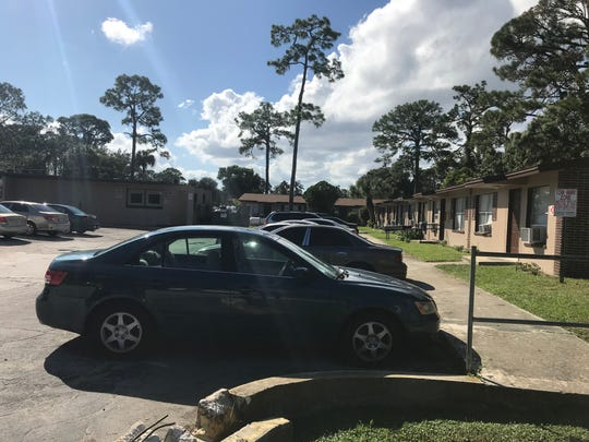 Masked men broke into an occupied unit at the Arlington Apartments on Jackson Street in Cocoa where one person was shot.