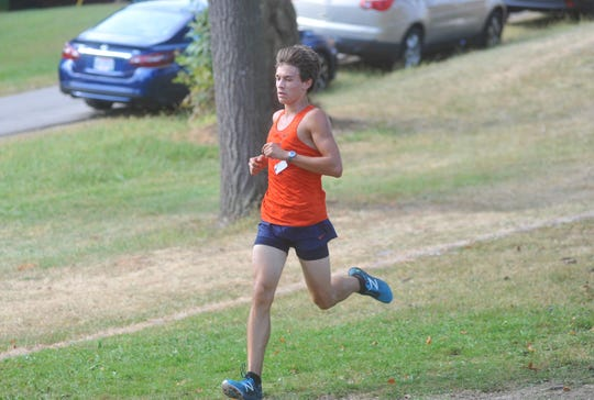 Galion's Braxton Tate looks to begin his quest back to state this weekend at his home course for districts.