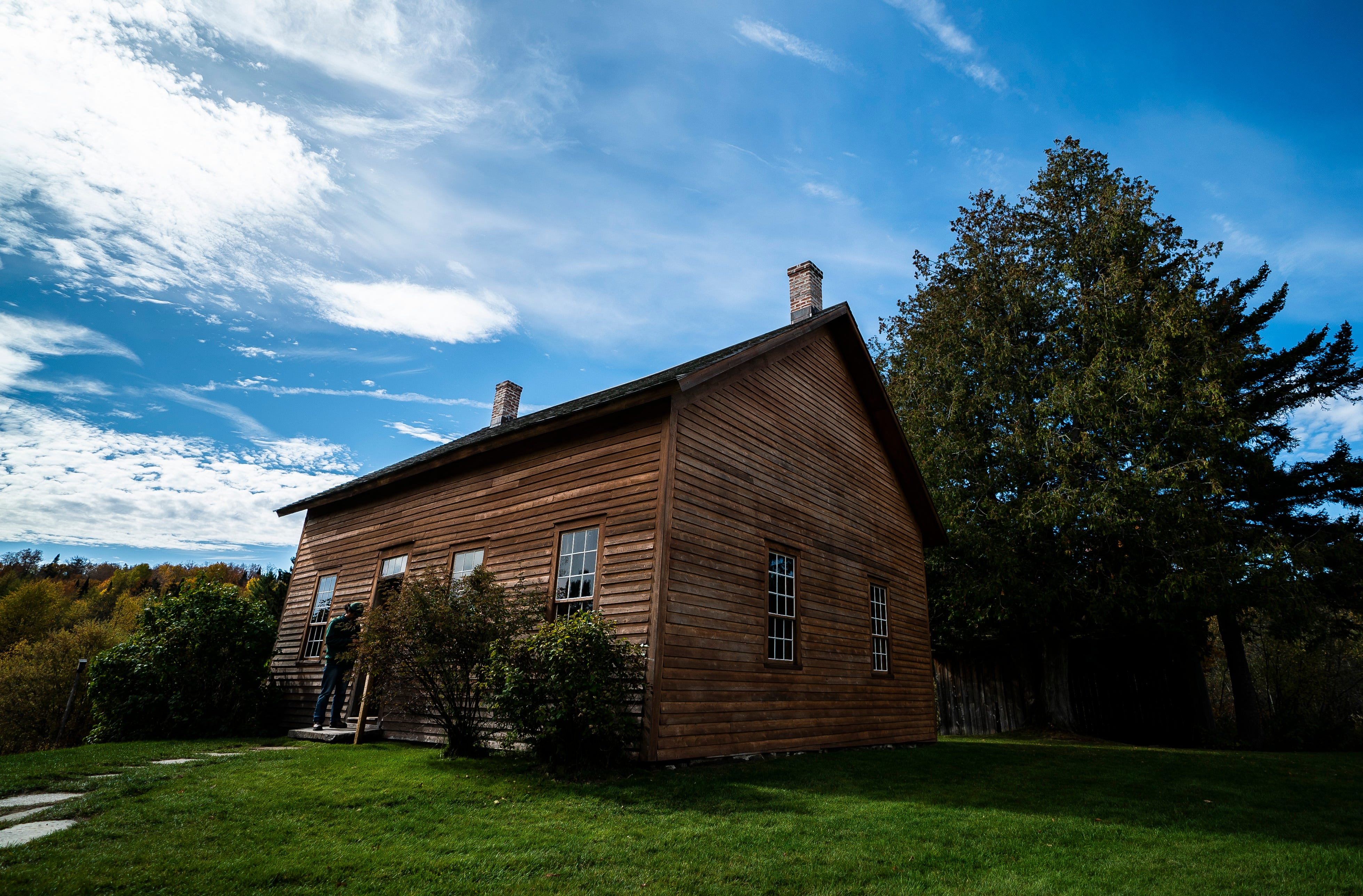 The John Brown Farm historic site in North Elba, New York, where Brown is buried. A militant abolitionist, Brown attacked a federal armory on October 16, 1859, in Harpers Ferry in what was then Virginia in hopes of sparking an armed slave uprising.