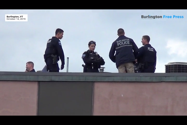 Burlington police identity body found on the rooftop of Mr. Mike's Pizza