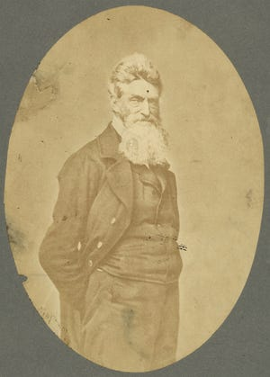 c1859: Abolitionist John Brown Photo by James Wallace Black and Martin M. Lawrence