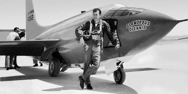 On Oct. 14, 1947, 24-year-old Capt. Chuck Yeager piloted the experimental rocket-propelled Bell Aircraft XS-1, through the sound barrier - one of the first steps toward the force's future in air superiority.