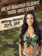 A Twin Peaks restaurant and sports bar is opening in West Chester. Check with it for military discounts.