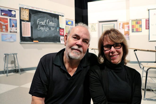 """Dan Guntzelman and Lissa Levin met on the set of """"WKRP in Cincinnati."""" Eventually, they got married and have continued writing for TV ever since. Guntzelman is directing Ensemble Theatre Cincinnati's production of Levin's play, """"Sex and Education."""""""