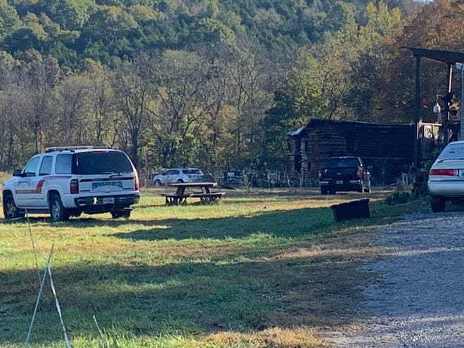 The Falmouth Fire Department is investigating a fatal fire in a barn where three people were found dead.