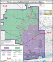 Draft of the approved Waukee secondary boundary feeder system
