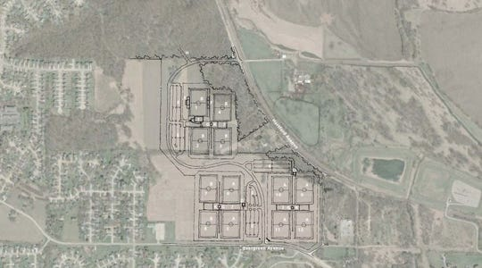 The proposed 12-field expansion for Des Moines' James W. Cownie Soccer Park on the south side.