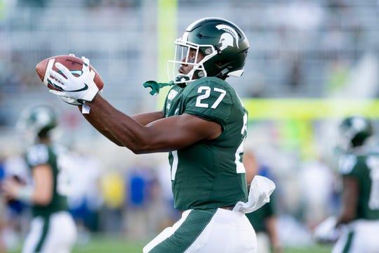 Michigan State wide receiver Weston Bridges has entered the NCAA transfer portal.